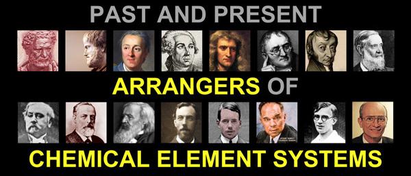Past and Present Arrangers of Chemical Element Systems PowerPoint