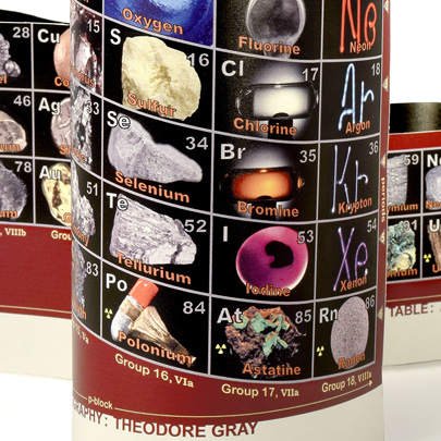 Alexander Arrangement of Elements 3D Periodic Table